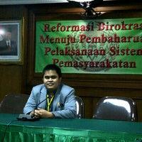 Photo taken at Direktorat Jenderal Pemasyarakatan by Kaswar K. on 9/28/2011