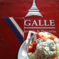 Photo taken at Pigalle Restaurante e Pizzaria by André Z. on 8/6/2012