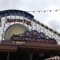 Photo taken at Toy Story Midway Mania! by Katelyn G. on 5/2/2012