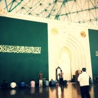 Photo taken at Masjid Agung Al-Ukhuwwah by Reza P. on 3/9/2012
