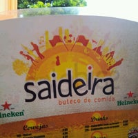 Photo taken at Saideira - Buteco de Comida by Thiago C. on 7/7/2012