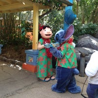 Photo taken at Lilo & Stitch Meet & Greet Spot by Marie Q. on 11/22/2011