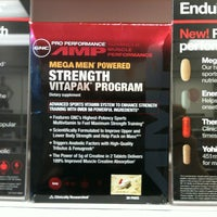 Photo taken at GNC by Vicki D. on 10/21/2011
