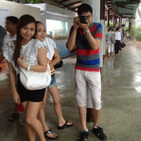 Photo taken at The Merlion (Sentosa) by Maan G. on 11/13/2011