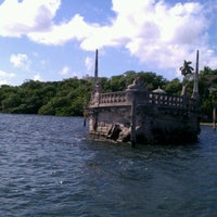 Photo taken at Vizcaya Museum and Gardens by Ashley P. on 11/27/2011