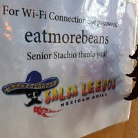Photo taken at Salsa Leedos Mexican Grill by Brian M. on 4/19/2011