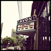 Photo taken at Avon Cinema by Peter K. on 5/28/2012