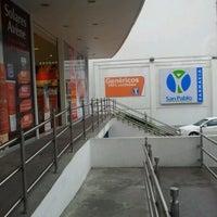 Photo taken at Farmacia San Pablo by Brigitte P. on 8/10/2012