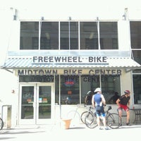 Photo taken at Freewheel Bike Shop - Midtown Bike Center by marky s. on 5/2/2012