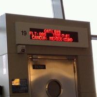 Photo taken at Gate B19 by Dawn P. on 6/30/2012