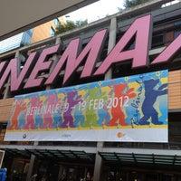 Photo taken at CinemaxX Potsdamer Platz by Hisham A. on 2/10/2012