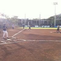 Photo taken at Rainbow Wahine Softball Stadium by Sean N. on 5/4/2012