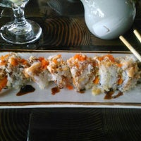 Photo taken at Yen Sushi Karaoke & Lounge by Megan C. on 3/15/2012