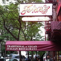 Photo taken at John's of 12th Street by Nick M. on 5/14/2012