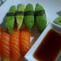 Photo taken at Sushi Yama by Alexandra O. on 8/24/2012