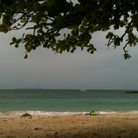 Photo taken at Nual Beach by Ju Lim on 7/29/2012