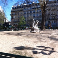 Photo taken at Square Montholon by Stef E. on 3/26/2012