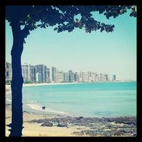 Photo taken at Avenida Beira Mar by Anchieta J. on 8/27/2012