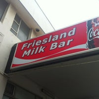 Photo taken at Friesland Milk Bar by Cherylann S. on 12/31/2011