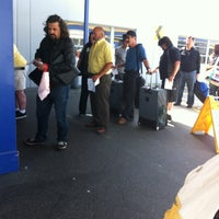 Photo taken at Fox Rent A Car Los Angeles / LAX by Paul R. on 5/27/2012