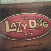 Photo taken at Lazy Dog Restaurant & Bar by rochelle l. on 8/24/2011