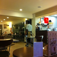 Photo taken at Fran's Café by Akira K. on 4/25/2011
