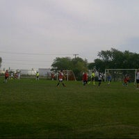 Photo taken at Mount Pleasant Soccer Field by J Ryan W. on 8/21/2012