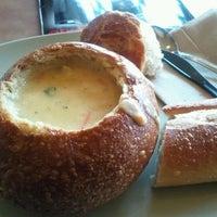 Photo taken at Saint Louis Bread Co. by Glenn B. on 1/19/2012