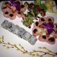 Photo taken at UMI Japanese Steakhouse & Sushi Bar by Jenn F. on 5/7/2012