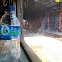 Photo taken at Stasiun Kroya by Luki S. on 3/12/2012