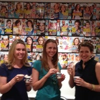 Photo taken at People Magazine by Ben & Jerry's Truck East on 7/13/2012