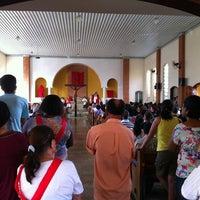 Photo taken at Igreja São José Operário by DL F. on 4/6/2012