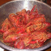 Photo taken at Bayou City Seafood & Pasta by Jenn on 1/29/2012