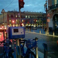 Photo taken at Vélo Bleu (Station No. 19) by Iarla B. on 3/5/2012