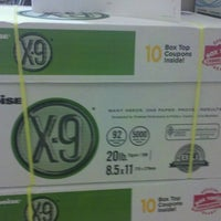 Photo taken at OfficeMax by T. W. on 1/11/2012