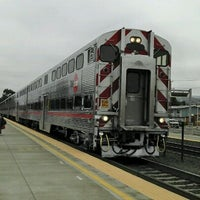 Photo taken at South San Francisco Caltrain Station by Dexter G. on 9/4/2011