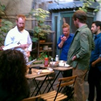 Photo taken at Vinegar Hill House by Sam F. on 10/6/2011