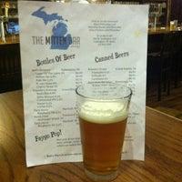 Photo taken at The Mitten Bar by landon m. on 8/8/2011