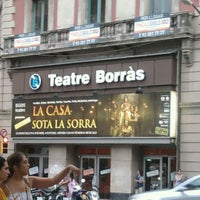 Photo taken at Teatre Borràs by Alejandro P. on 7/27/2012