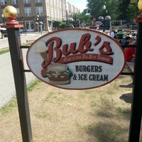Photo taken at Bub's Burgers & Ice Cream by Kerry S. on 7/29/2012