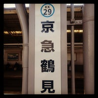 Photo taken at 京急鶴見駅 (Keikyū Tsurumi Sta.) (KK29) by Hide K. on 2/24/2012