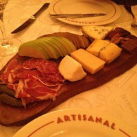 Photo taken at Artisanal Fromagerie & Bistro by Allison M. on 4/9/2012
