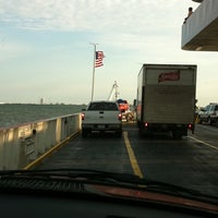 Photo taken at Galveston - Bolivar Ferry by Sherry on 8/2/2011