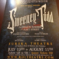 Photo taken at Eureka Theatre by Kricket Z. on 7/15/2012