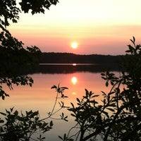 Photo taken at Thagard Lake by Jeanne M. on 5/26/2012