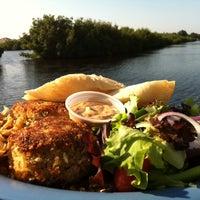 Photo taken at Cajun Cafe On The Bayou by Rebecca U. on 8/11/2011