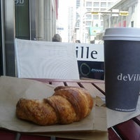 Photo taken at deVille Luxury Coffee & Pastries by Stan G. on 4/23/2012