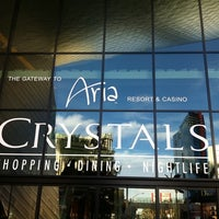 Photo taken at The Shops at Crystals by Masashi S. on 3/15/2012