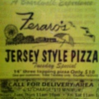 Photo taken at Feraro's Jersey Style Pizza by Reiner B. on 12/31/2010