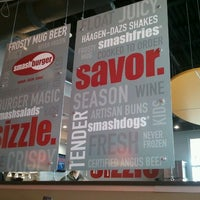 Photo taken at Smashburger by Jennifer on 12/11/2011